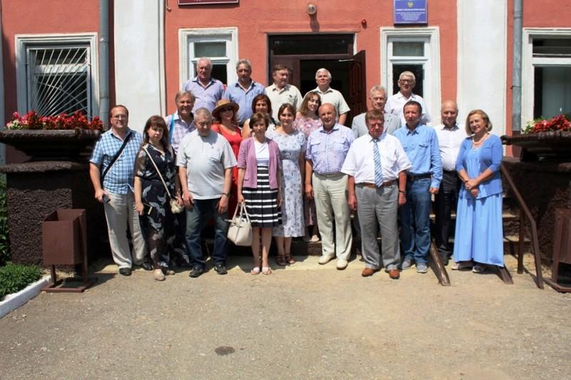 Выездное заседание секретариата Союза писателей России