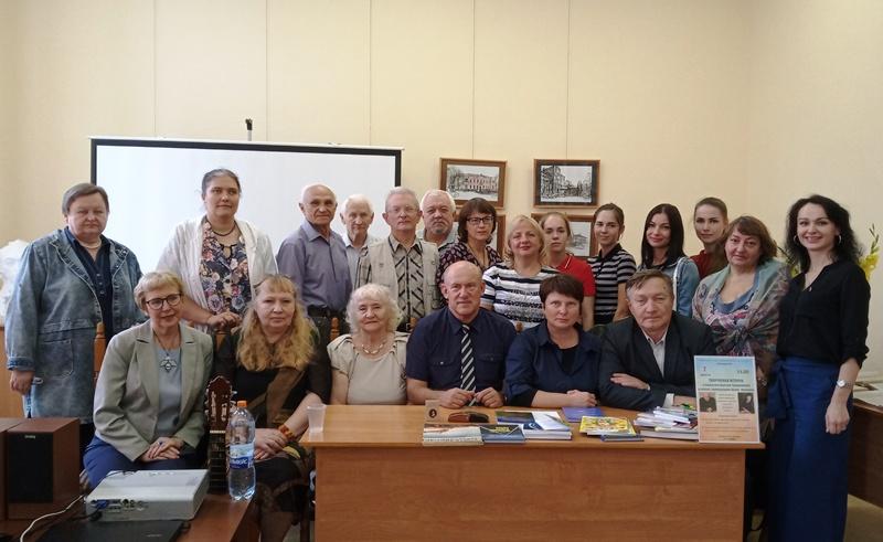 Творческая встреча с писателем Сергеем Трахимёнком и поэтом, переводчиком Инной Фроловой
