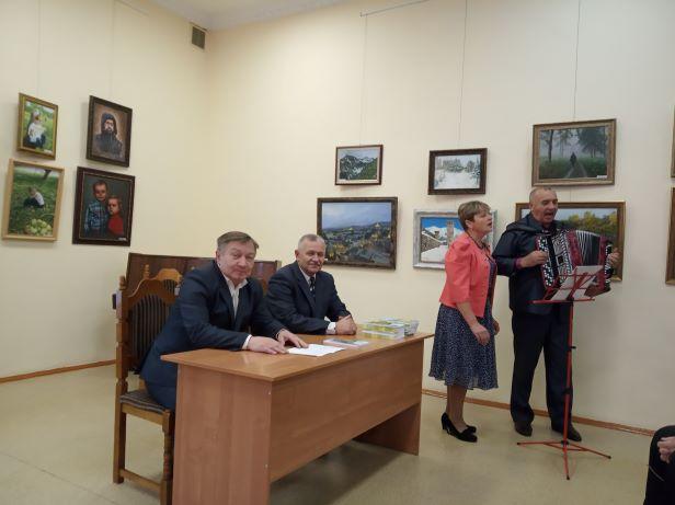 Творческая встреча с поэтом Юрием Кравцовым