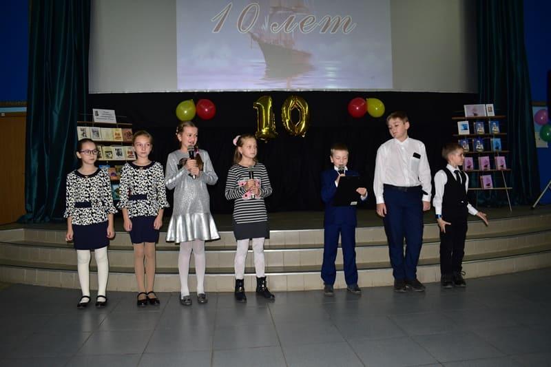 """Поздравление от юных поэтов из """"Мастерской словесности"""""""