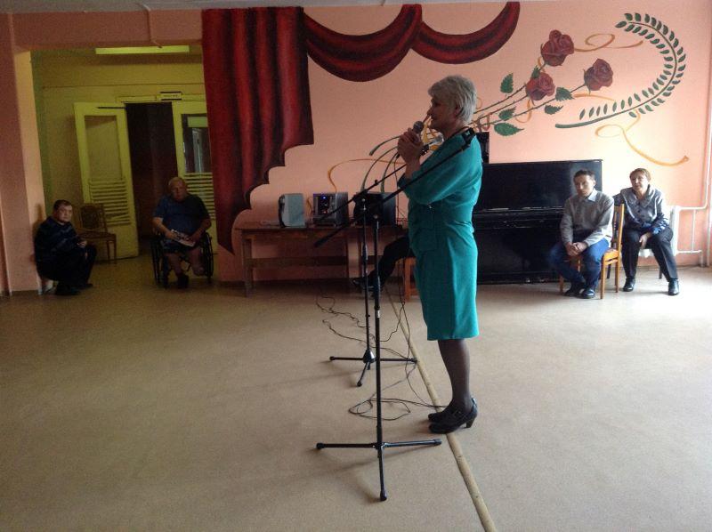 В Брянском доме-интернате для престарелых и инвалидов прошёл благотворительный концерт