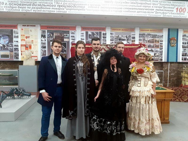 Литературный клуб БГТУ «Экватор»  выступил в музее БМЗ