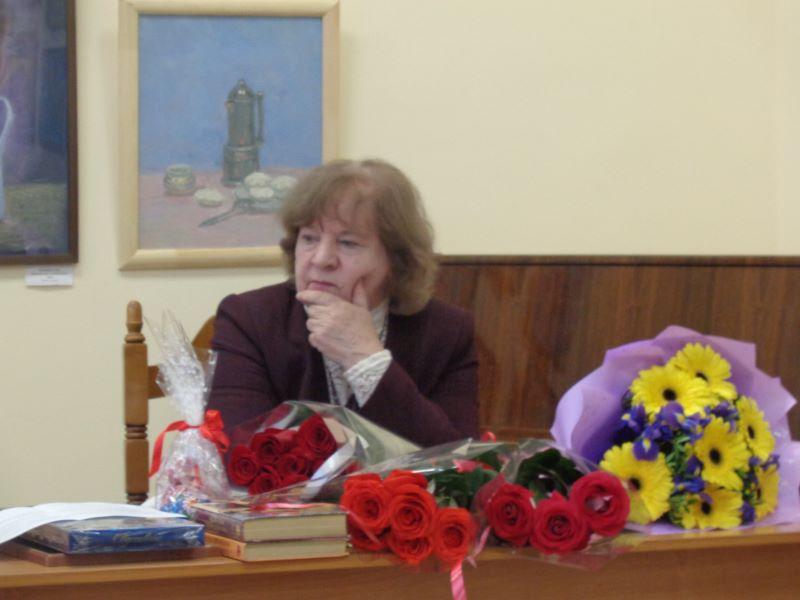 Творческая встреча с членом СП России Л.Л. Семенищенковой