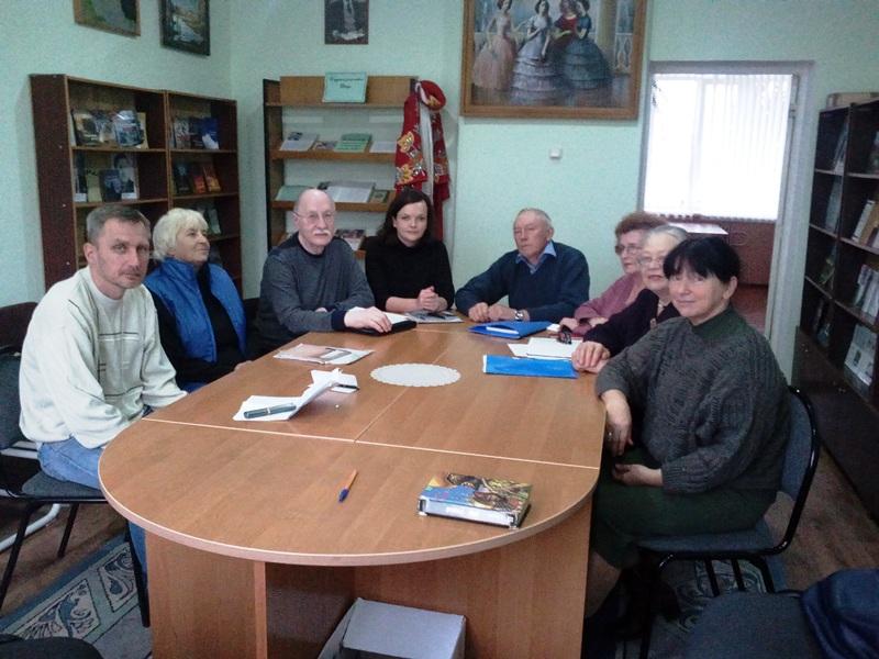 Ноябрьский семинар ЛИТО «Стожары»