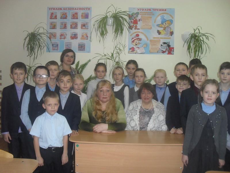 Встреча с учениками Супоневской СОШ №2