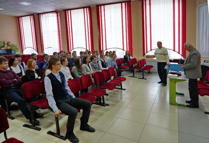 «Стань патриотом»: встреча c писателем П.П. Кузнецовым