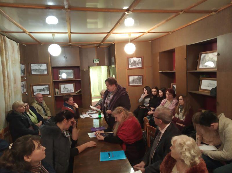 Январский семинар поэзии Брянского областного литобъединения