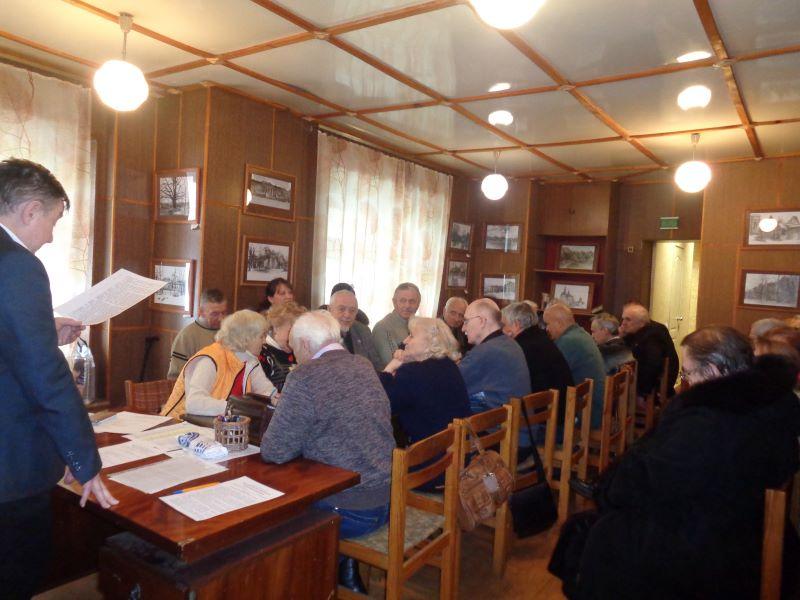 Собрание членов СП России Брянской областной общественной писательской организации