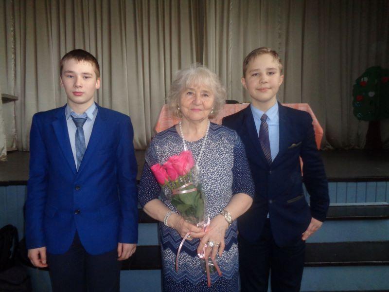Людмила Ашеко выступила перед учащимися 28 школы г.Брянска