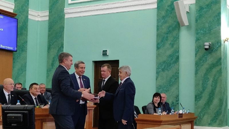 Юрий Лодкин стал Почётным гражданином Брянской области