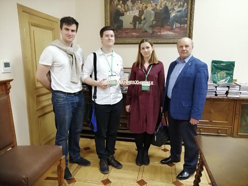 Кира Марченкова и Дмитрий Лагутин приняты в СП России