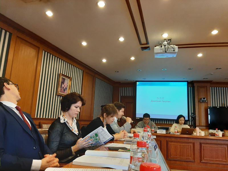 Дмитрий Лагутин принял участие в Третьем Русско-китайском Форуме молодых писателей