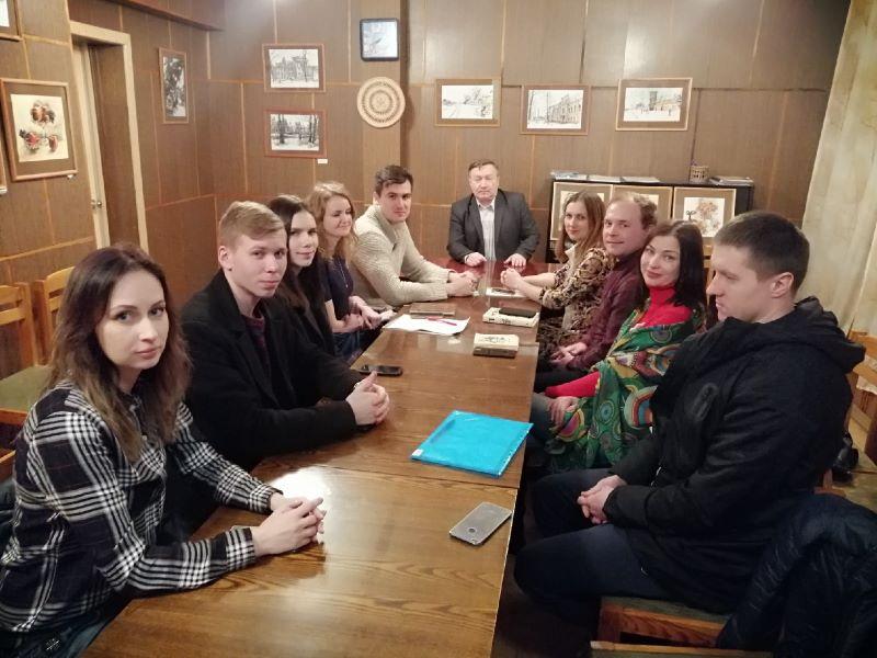 Семинар Совета молодых литераторов