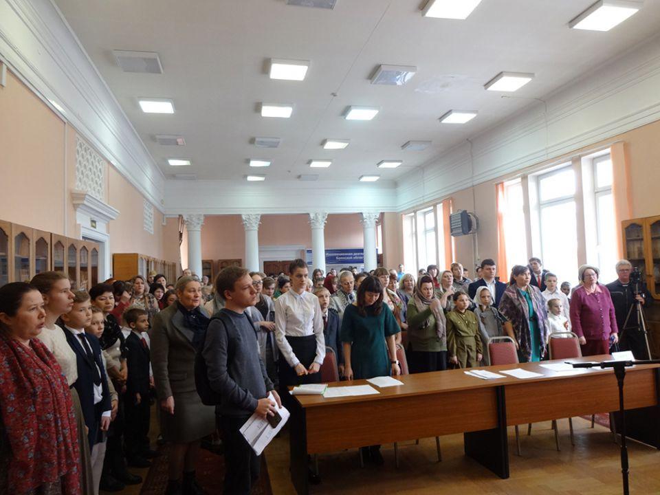В.Е. Сорочкин поработал в жюри Епархиального конкурса чтецов