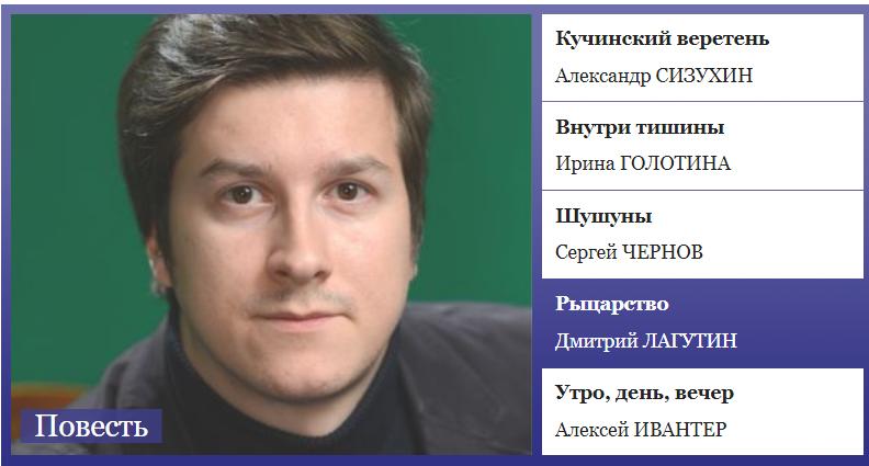 Поздравляем с публикацией Дмитрия Лагутина