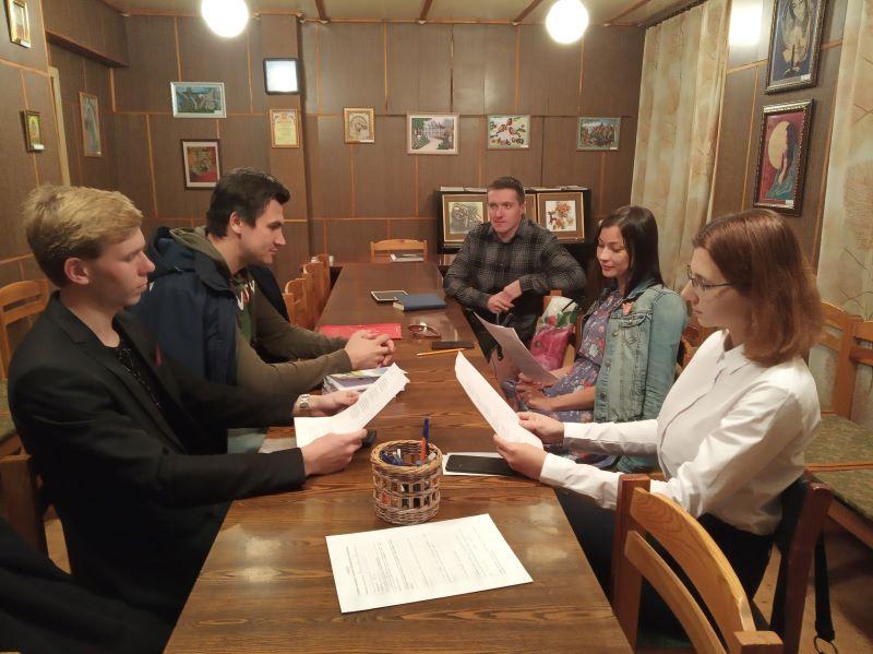 Сентябрьский семинар Совета молодых литераторов Брянска