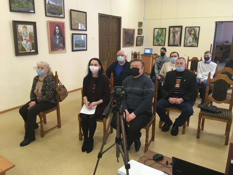 Телемост писателей Белоруссии, России и Украины