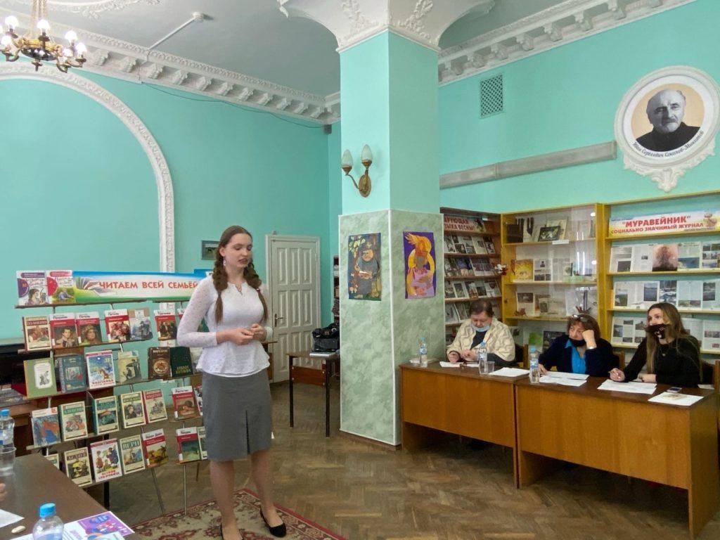 Брянские писатели в жюри конкурса «Живая классика» (Советский район)