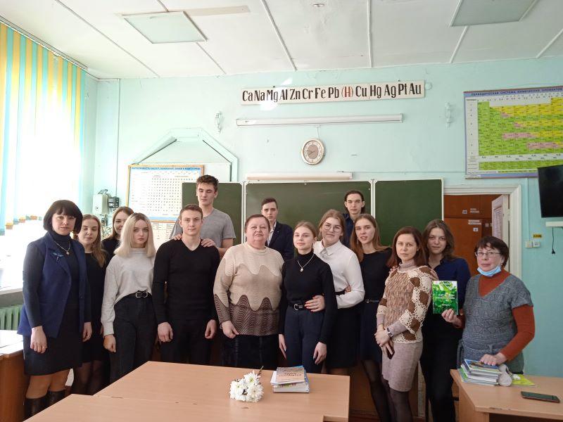 Встреча с писателем Н. Шестаковой
