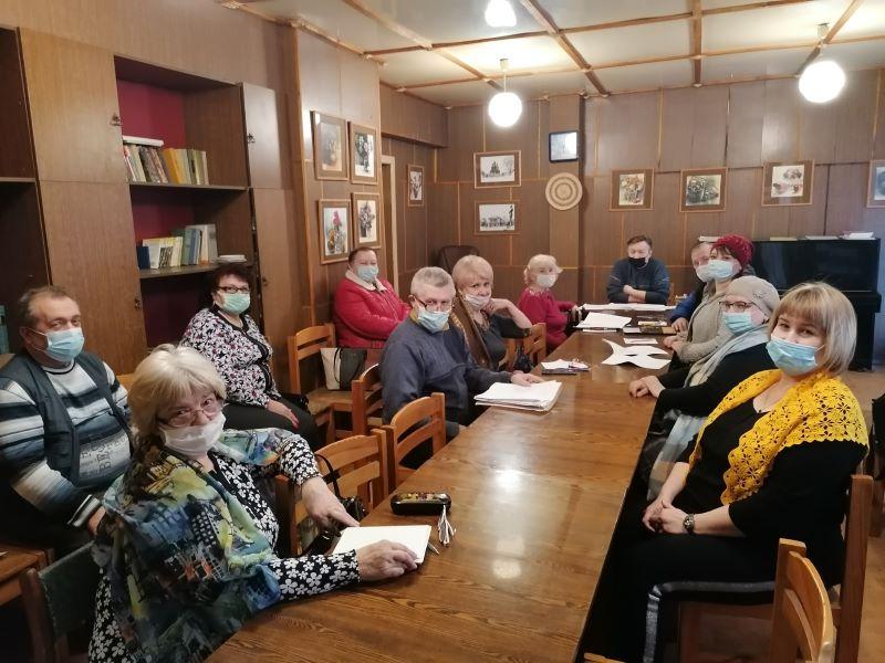 Мартовский семинар поэзии Брянского областного литобъединения