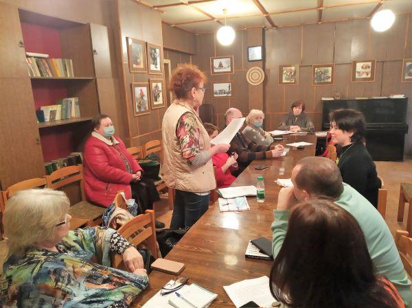 Мартовский семинар прозы Брянского областного литературного объединения
