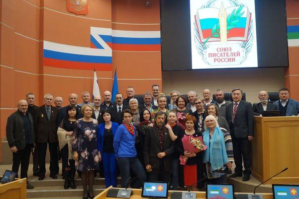 Н.Ф. Иванов и В.Е. Сорочкин приняли участие в съезде СП Коми