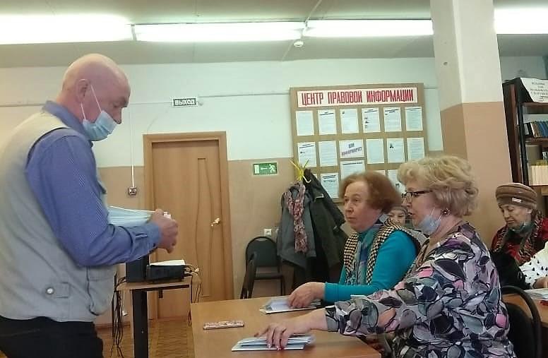 Состоялось очередное собрание Трубчевского литературного объединения