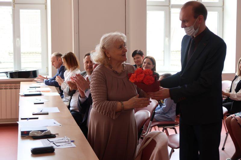 Л. С. Ашеко в конкурсном жюри творческого мероприятия в Следственном управлении СК России по Брянской области