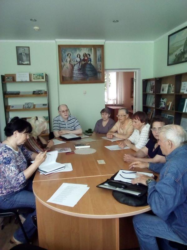 Творческий семинар жуковского литературного объединения