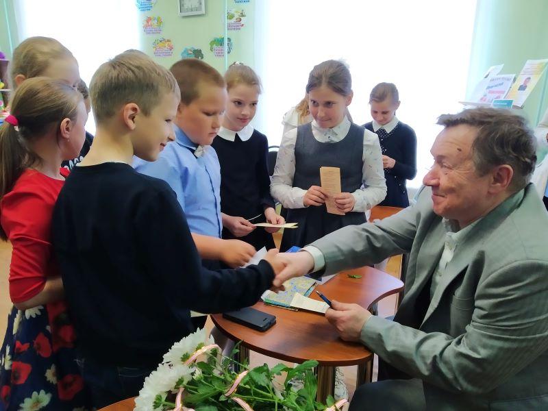 Творческая встреча с В. Е. Сорочкиным в Сураже