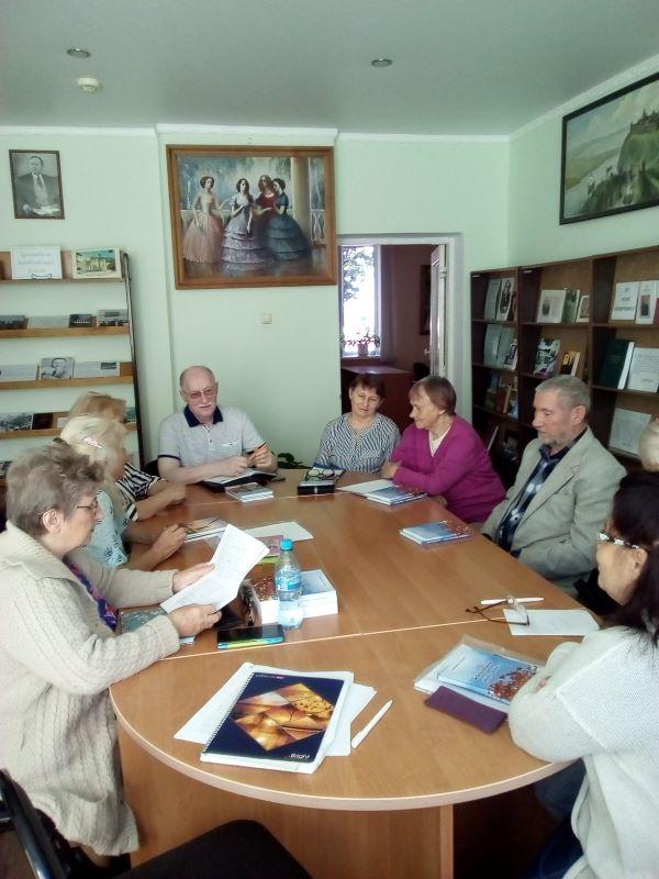 Сентябрьский семинар ЛИТО «Стожары»
